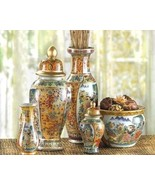 Asian Palace Vase Ensemble   6 Piece Set - $34.95