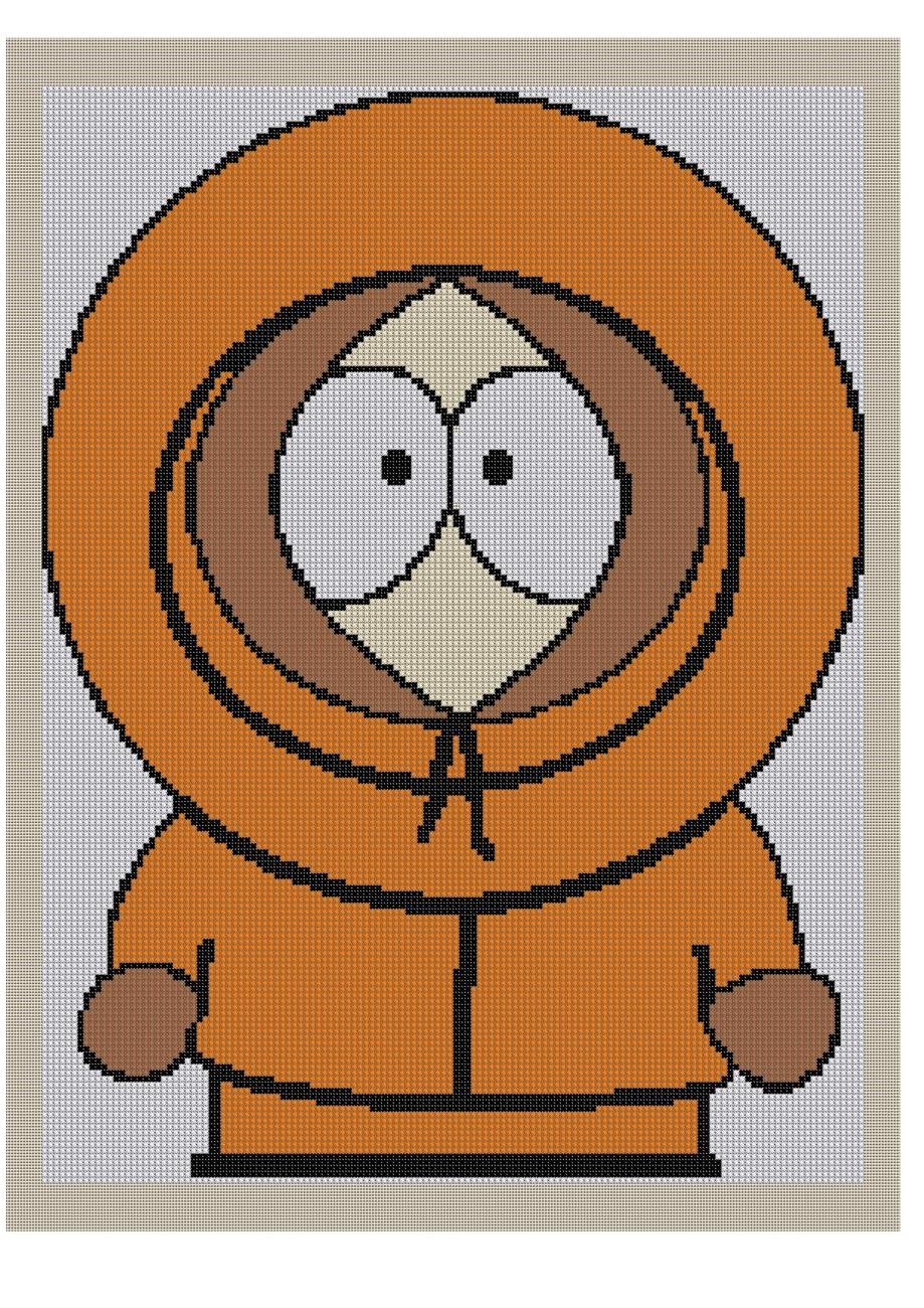 Kenny Crochet Graph Afghan Pattern