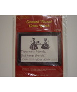 Needle Magic Counted Cross Stitch Kit Friendship - $3.00