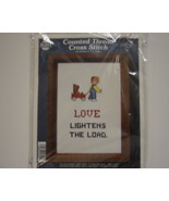 Needle Magic Counted Cross Stitch Kit Love Ligh... - $3.00