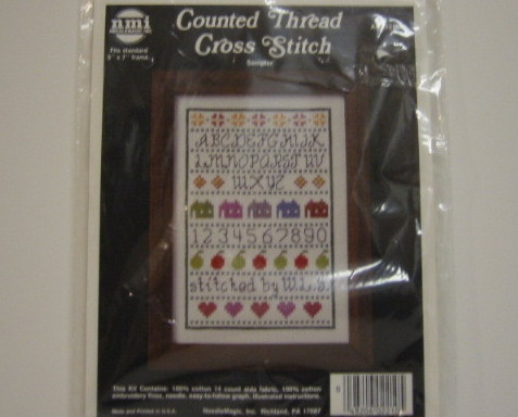 Needle Magic Counted Cross Stitch Kit Sampler