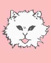 Kitty Face Crochet Graph Afghan Pattern - $5.00