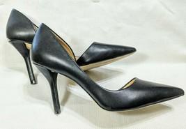 """Women Michael Kors 8 M Classic Black Leather Stiletto Pumps High 3.75"""" H... - $29.99"""