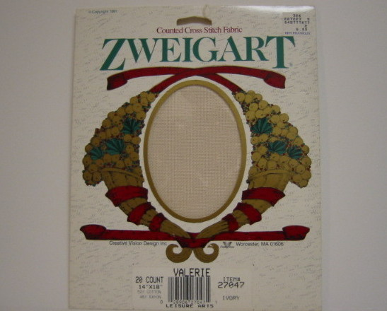 Primary image for Zweigart Valerie Cross Stitch Fabric 20 Count Ivory
