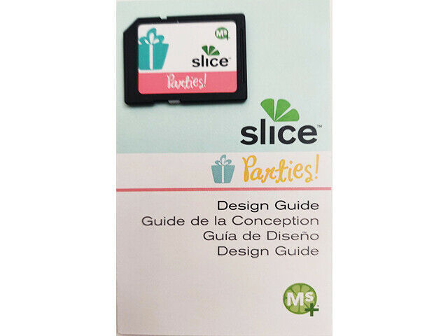 Slice Parties Design Card and Design Guide, Cards & Scrapbooking