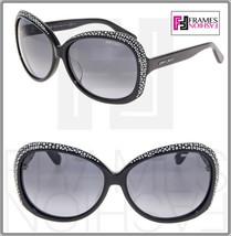 JIMMY CHOO LU Black Diamante Crystal Butterfly Sunglasses Lu/F/S Special Fit - $264.33