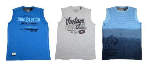 Point Zero Black Label Men's Tee Shirt Sleeveless Semi-Fit NEW Licensed