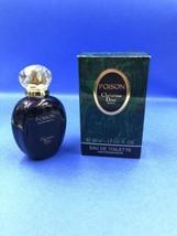 Vintage Parfums Christian Dior Poison Eau de Toilette 1.7 Oz 85% Full - $44.55