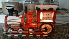 Vintage Christmas Train Locomotive Lighted in original box - $25.00