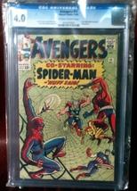 Avengers (1963) # 11 CGC Graded 4.0 VG Very Good - $228.99