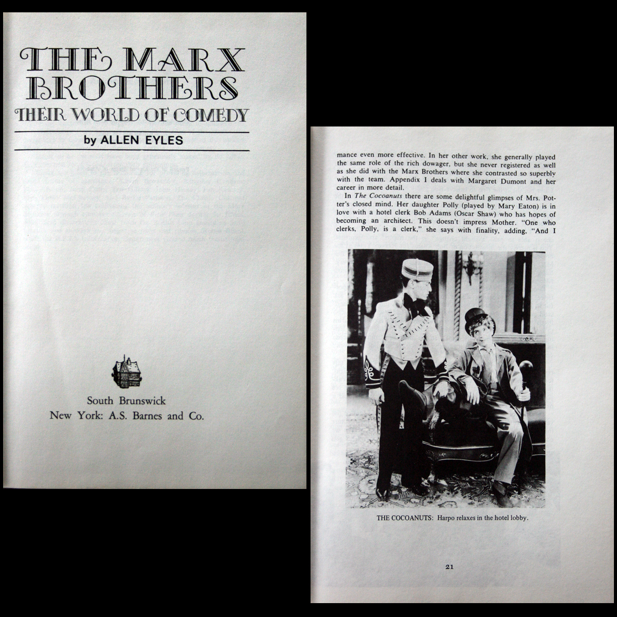 Primary image for 1969 The Marx Brothers - Their World of Comedy ILLUSTRATED