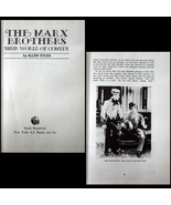 1969 The Marx Brothers - Their World of Comedy ILLUSTRATED  - $5.00