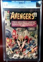 Avengers (1963) # 12 CGC Graded 5.0 VG+ Very Good - $132.99