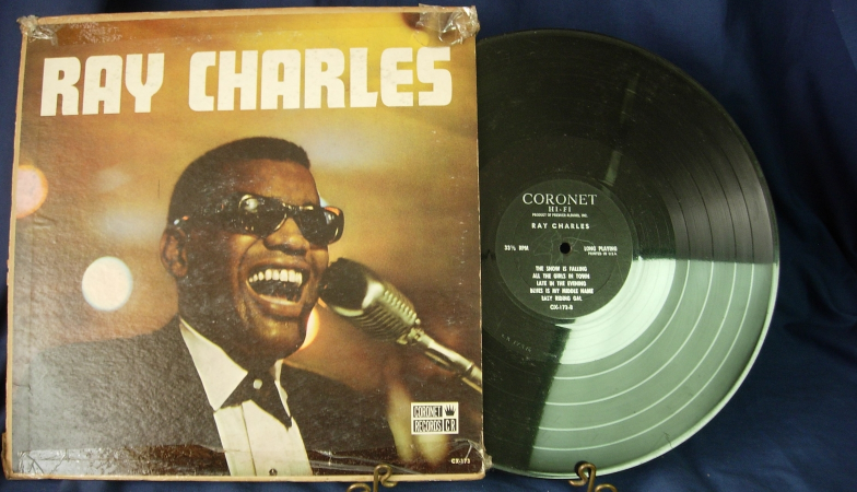 RAY CHARLES - Self Titled - Coronet Records CX-173