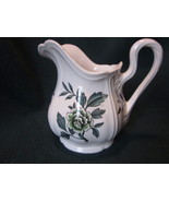 Wedgwood Green Leaf Barlastin Replacement Creamer 4.5 inches tall - $23.99