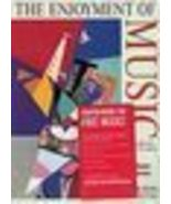The Enjoyment of Music by Machlis Forney 2003 - $7.00