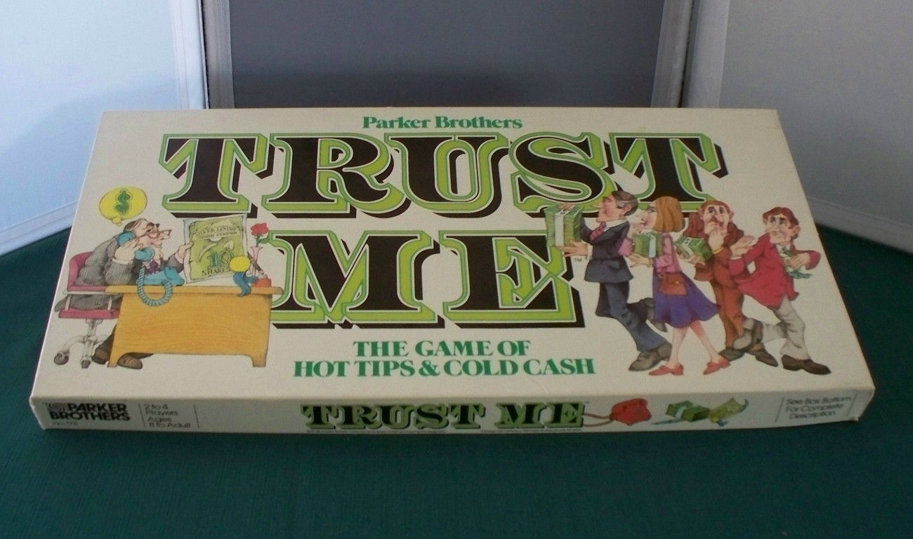 Primary image for Trust Me Game by Parker Brothers, 1981. Comp. VGC