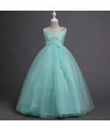 Mint Green Flower Girl Dresses Short Formal Party Gowns Pricess Holiday ... - $43.99