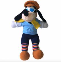 "Vintage Golfing Goofy Disneyland Disney World 17"" Plush Sunglasses Beanie - $34.99"