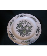 Wedgwood Green Leaf Barlastin Replacement Plate  8.5 inch Lot 1 - $21.00