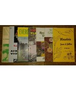 7 Vtg Gardening Booklets Mountain Jams & Jellies Bonsai Care Container P... - $15.84