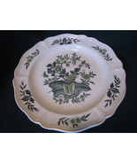 Wedgwood Green Leaf Barlastin Replacement Plate  8.5 inch Lot 2 - $21.00