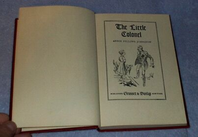 The Little Colonel Annie Fellows Johnston 1922 Series Reader