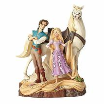 Enesco Disney Traditions by Jim Shore Tangled Carved by Heart Live Your ... - $89.40