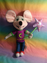 2018 Chuck E Cheese Mouse Let's Celebrate Plush Doll Toy  - $9.85