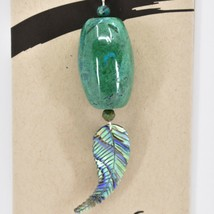 A.T. Storrs Chrysocolla Empowerment Expression Teaching Pendant Necklace image 2