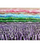 Landscape Large Original Oil Painting, Abstract, Impasto, Contemporary, ... - $490.00