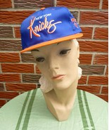 Vintage 1990s New York Knicks Hat Adjustable Unisex New w/Official NBA Tag - $22.75