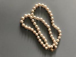 Vintage Faux Pearl Necklace - $7.91
