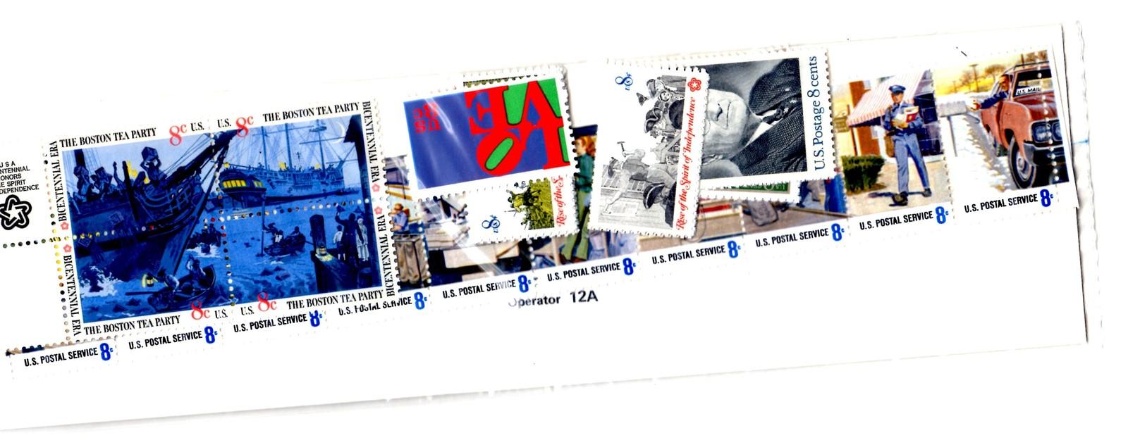 USPS Stamps - 1973 Souvenir Mint Set Stamps & Mounts Unopened 1973 USPS