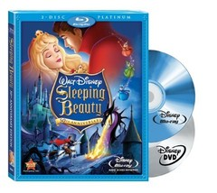 Disney Sleeping Beauty (3-Disc Platinum Edition Blu-ray + DVD)