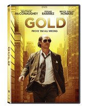 Gold (2017, DVD)