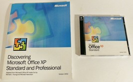 Microsoft Office XP Standard Version 2002 - 2 Discs with Product Key + M... - $9.49