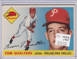 1955 Topps 33 Tom Qualters Not Graded 02 - $18.89