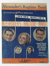 Vintage Sheet Music ~ ALEXANDER'S RAGTIME BAND ~ Irving Berlin © 1938 - $12.99