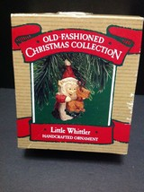 Hallmark Handcrafted Ornament - Old Fashioned Collection  Little Whittle... - $12.86