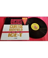 "Superfly 1990 Curtis Mayfield and Ice-T Capitol Records 12"" Single Vinyl... - £4.54 GBP"