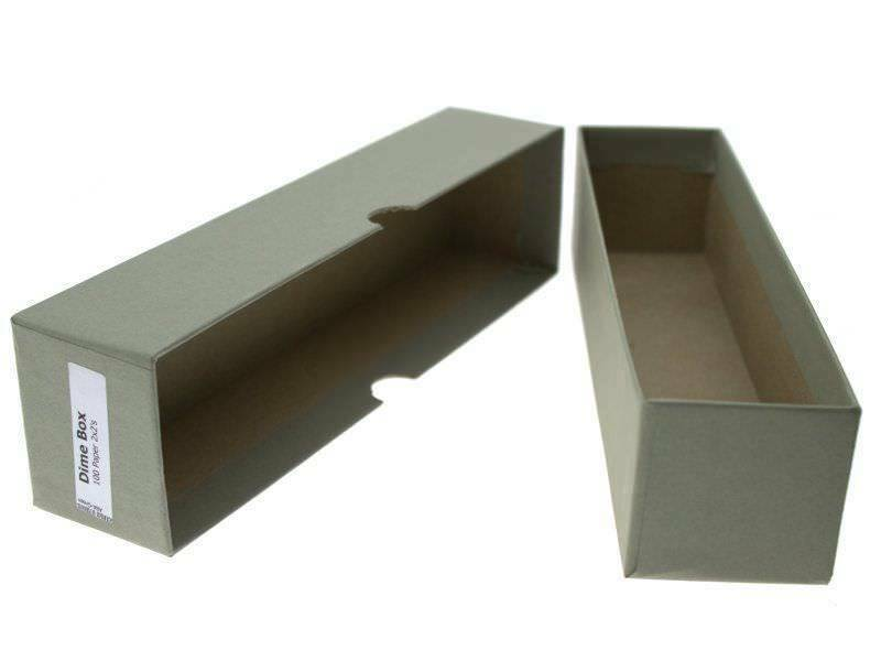 """Guardhouse Green/Dime Coin Storage Box with 100 flips, 2"""" x 2"""" x 8.5"""" image 5"""