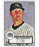Troy Tulowitzki Topps 52 2007 Rookie Card #5 Colorado Rockies Toronto Bl... - $1.25