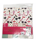 """My Mind's Eye Gal Meets Glam 12"""" x 12"""" Scrapbook Paper Accessories Kit S... - $24.74"""