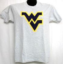 West Virginia Mountaineers Flying WV Ash Tee Shirt Small - $13.99