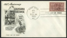 #1020 3c Louisiana Purchase, Fleetwood-Addressed FDC **ANY 4=FREE SHIPPI... - $1.00