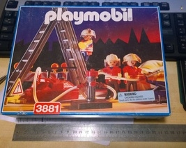 NEW Playmobil 3881 Fire Fighting Rescue Jump Team MIB - $80.00