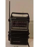 Vintage General Electric 7-2800B AM-FM Portable Radio AC-DC Battery or Plug - $14.85