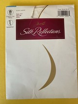 Hanes Silk Reflections Silky Sheer Control Top Pantyhose AB in White 717 - $5.69