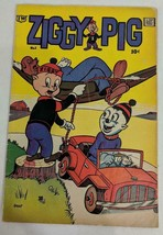 MLD VINTAGE 1958 IW Enterprises IW Comics Ziggy Pig Grenet No. 1 Comic Book - $16.69